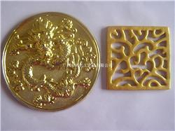 广州厂家加工树脂工艺品 中秋月饼盒盖装饰品