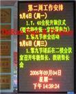 φ5.0 Semioutdoor Bicolor LED Strip Sign