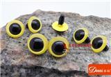 青蛙眼睛,水晶眼睛,黄色水晶眼