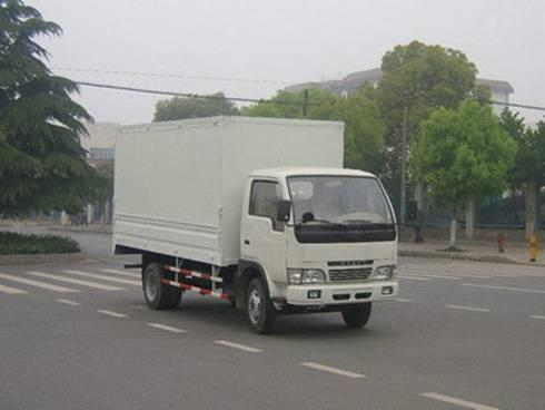 东风小霸王厢式运输车图片