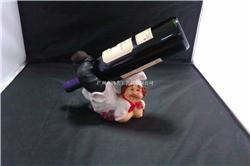 加工定制树脂工艺品 红酒酒架