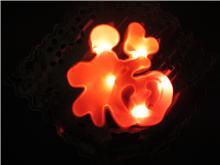 LED发光福