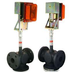 電動高溫熱導油閥(熱煤油)
