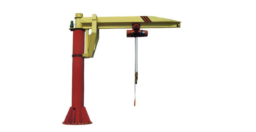 定柱式悬臂起重机图片