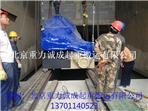 北京螺杆式冷水冷冻机组人工起重吊装到地下室