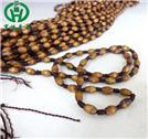 玉器掛繩批發檀木轉運珠項鏈掛繩
