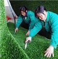 人造草坪铺装效果