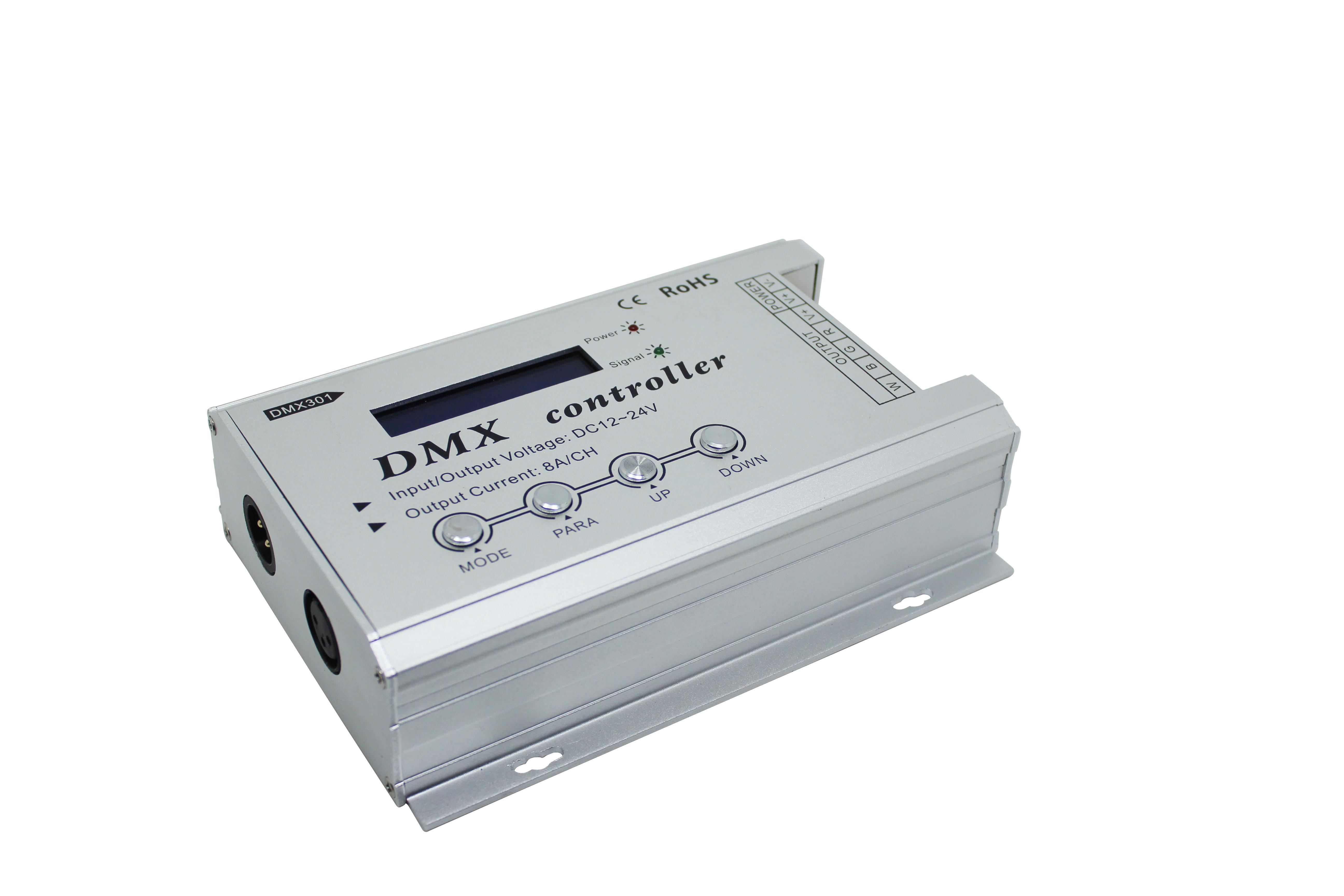 基于同步DMX512的LED控制系統設計