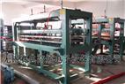 大型卷材窗簾布平板壓花機,簾布平板壓花機
