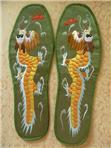 北川羌绣花鞋垫龙2