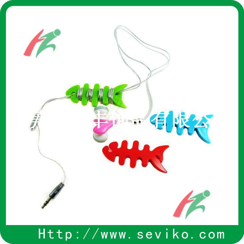 硅胶耳机线绕线器