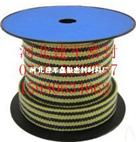 芳纶包角黑四氟盘根G1563-1502四角芳纶黑四氟盘根混编盘根