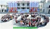上海集體照拍攝大合影年會集體合影年會紀念合影