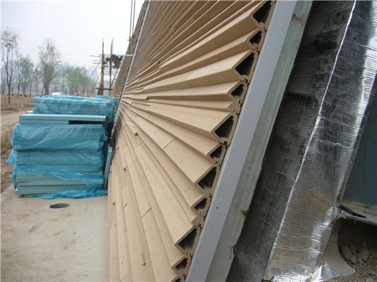 西安大明宮國家遺址公園 木塑外墻掛板