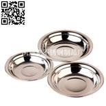 不銹鋼中式圓盤(Stainless steel Plate)ZD-YP17