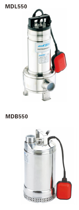 MDL、MDB 全不锈钢潜污泵