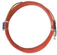 FC - LC multimode fiber jumper