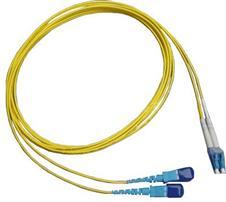 LC - SC single-mode fiber jumper
