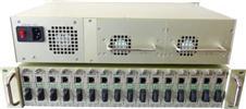 16槽铝合金光纤收发器机架