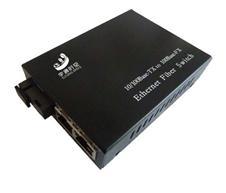 百兆1光2电光纤收发器