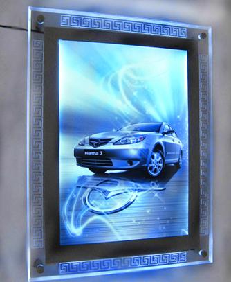 led水晶灯箱01图片