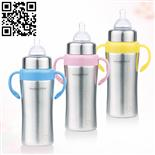 不銹鋼奶瓶(Stainless steel feeding bottle)ZD-NP06