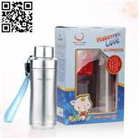 不锈钢两用奶瓶(Stainless steel feeding bottle)ZD-NP10