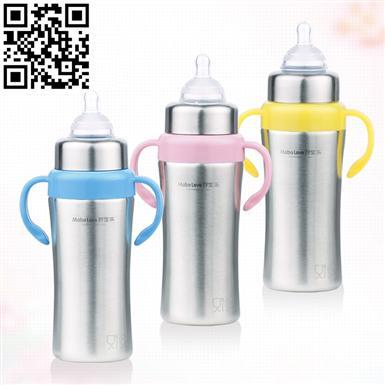 不銹鋼奶瓶(Stainless steel feeding bottle)ZD-NP06