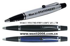 廠家直銷高透水晶筆 水鉆觸摸筆 電容筆 金屬圓珠筆 觸屏手寫筆