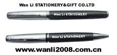 万里文具酒店广告笔 金属笔 生产厂家 可定LOGO笔记本配套笔 金属圆珠笔