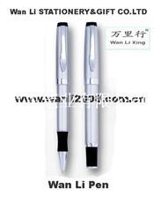 【廠家直銷】wanli 萬里文具高檔 金屬圓珠筆/金屬筆/廣告定制印logo