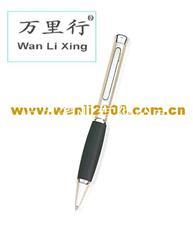 万里四合一多功能金属笔 中性礼品笔 LED灯触控手写笔 激光电容笔