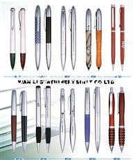 厂家长期现货供应 商务金属签字笔 金属礼品笔 企业定制广告笔