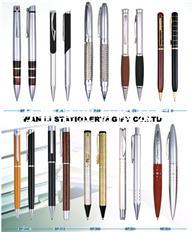 万里文具直销广告笔 金属笔 生产厂家 可定制LOGO 水晶笔 电容笔 金属圆珠笔