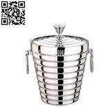 銀鉆雙環雙層冰桶(Stainless Steel Ice-Barrels)ZD-BT25