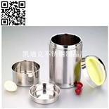 二层真空提锅(Stainless steel dinner bucket)ZD-STG083