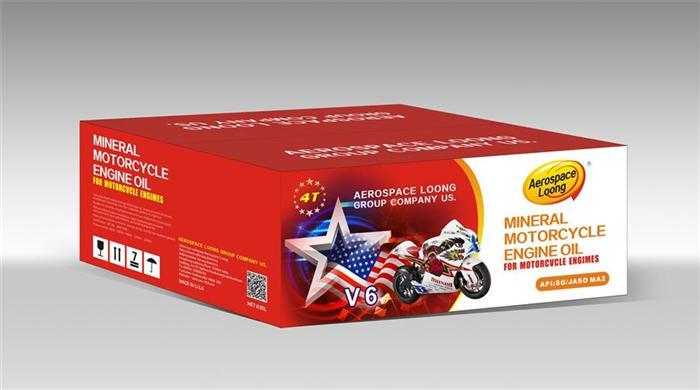 v6 全速润滑油包装