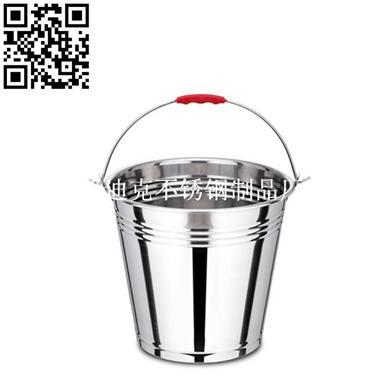 不锈钢斜身水桶(Stainless steel bucket)ZD-ST02