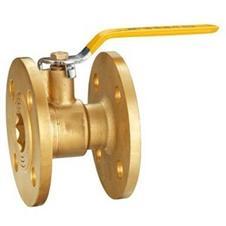 黄铜法兰球阀