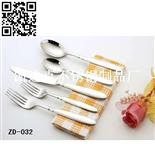 刀叉匙5件套(Stainless steel tableware)ZD-032