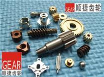 铜蜗杆 走芯机加工 铣扁加工