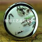 鱼米之乡圆镜