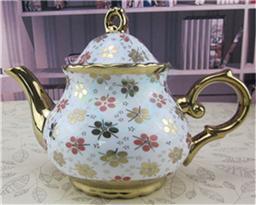 陶瓷咖啡壶 细口壶 宫廷咖啡壶