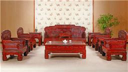 沙发 古典红木家具 汉宫春晓实木沙发