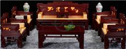 沙发 中式明清红木家具 锦上添花 实木沙发