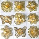 种种金属胸花