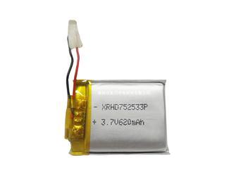 聚合物鋰離子電池752533 620mAh 3.7V