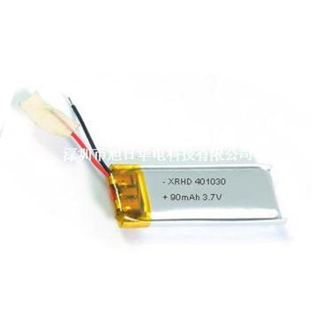 聚合物鋰離子電池401030 90mAh 3.7V