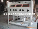 河北吴桥县箱体式多工位环保型手动喷砂机