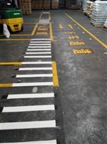 道路划线、停车场车位划线工程施工